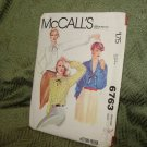 McCALL'S PATTERN 6763