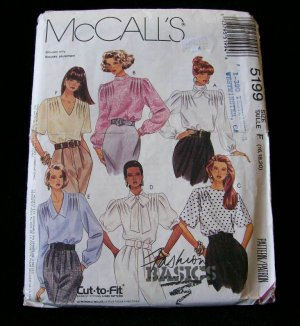 MCCALL'S PATTERN 5199