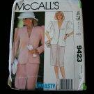 MCCALL'S PATTERN 9423