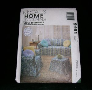 McCALL'S HOME DECORATING PATTERN 9161
