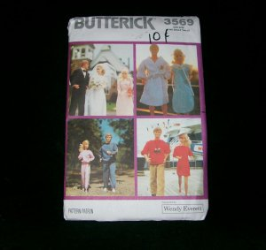 BUTTERICK PATTERN 3569