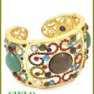 CIELO COUTURE  multi stones & ice rhinestones fashion bracelet on sale.
