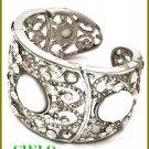 CIELO COUTURE  blizzard white stones & ice rhinestones fashion bracelet on sale.