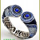 CIELO COUTURE shimmering and lavish rhinestones fashion bracelet on sale.