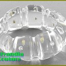 Boutique bracelet that delivers a premuim chunky acrylic bangle with rhinestones.