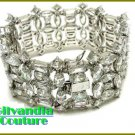 GILVANDIA COUTURE BonaFide!® colorful blizzard ice CZ diamonds fashion bracelet on sale now.