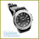 Fabulous Timepiece! Fantastic smoke grey strap fashion watch with two bonus gifts. Limited Time.