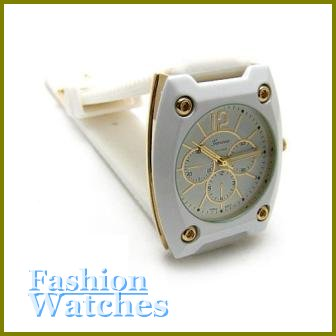 Vogue Timepieces! Blizzard white rubber strap fashion watch and bonus gifts. Limited Time.