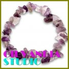 GILVANDIA STUDIO handcrafted Amethyst stones fashion bracelet on sale.
