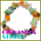 GILVANDIA STUDIO handcrafted Brazilian colorful chips fashion bracelet on sale.