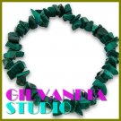 GILVANDIA STUDIO handcrafted Uralachite natural stones fashion bracelet on sale.