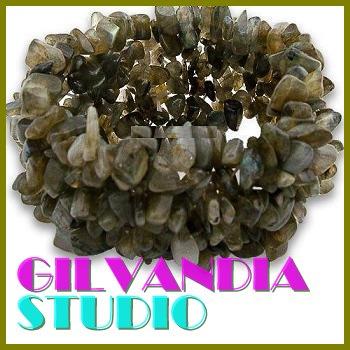GILVANDIA STUDIO handcrafted Bohemian natural stones fashion bracelet on sale.