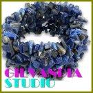 GILVANDIA STUDIO handcrafted lazuli lazurite natural stones fashion bracelet on sale.