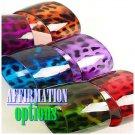 Enjoy these stackable set of 6 leopard print bangle ladies bracelets.