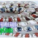 Set of fashion bracelets flaunts a vividly hue of  Voi SINFUL® semiprecious stones.