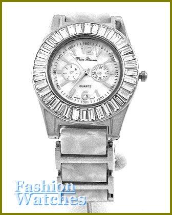 Women's celebrity runway design, ice stone fashion watch on sale.
