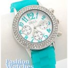 Styled with your bright looks in mind, this is the light blue gumball, fashion watch for you.
