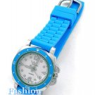 Add excitement to your wardrobe with this Turquoise accent fashion watch.