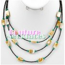 JONFRANCA women's fine Paramount selected turquoise shell fashion necklace on sale.