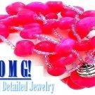 JONFRANCA women's fuchsia Paramount® resin stones fashion bracelet on sale.