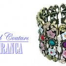 Soft garden color fashion bracelet with free complimentary gifts by JONFRANCA.