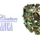 Kingdom jewel tone fashion bracelet with free complimentary gifts by JONFRANCA.