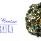 Green flower stones fashion bracelet with free complimentary gifts by JONFRANCA.