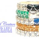 5pc. boutique fashion bracelet set with free complimentary gifts by JONFRANCA.