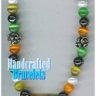 GILVANDIA COUTURE handcrafted colorful panther eye stones fashion bracelet on sale.