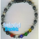 AFFIRMATION MUNDO handcrafted fusion of gemstones fashion bracelet on special.
