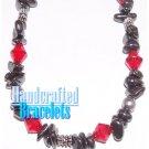 AFFIRMATION MUNDO handcrafted Australian hematite gemstones fashion bracelet on sale.