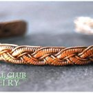 DUNHILL CLUB handcrafted unisex Bohemian woven design fashion bracelet on sale.