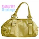 Attractive...Couture designed tan celebrity handbag by AFFIRMATION on sale now.
