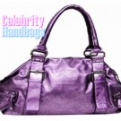 Exquisite...Fine couture styled intense purple celebrity handbag by AFFIRMATION on sale now.