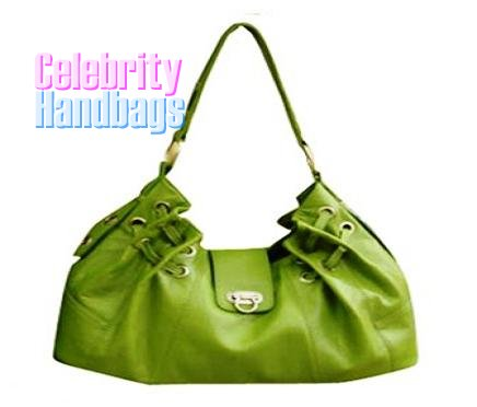 Divine...Couture styled verde green celebrity handbag by AFFIRMATION on sale now.