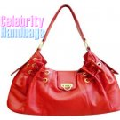 Gorgeous...Rich fire red celebrity handbag by AFFIRMATION on sale now.
