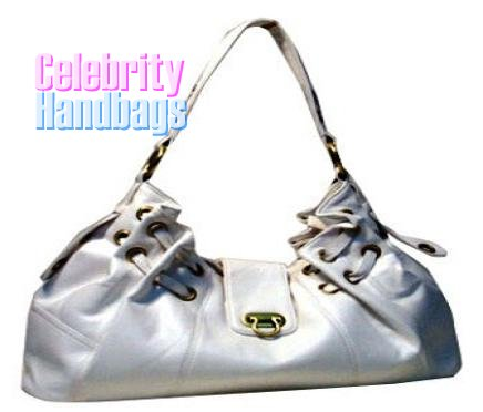 Impeccable...Blizzard white celebrity handbag by AFFIRMATION on sale now.
