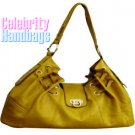 Splash of Glam...Safari yellow celebrity handbag by AFFIRMATION on sale now.