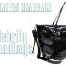 AFFIRMATION black couture tote fashion handbag on sale.