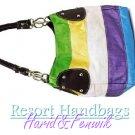 Harid &Fenwik women's jewel tone hobo tote design fashion handbag on sale.