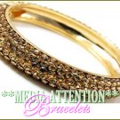 MEDIA ATTENTION celebrity topaz luster fashion bracelet on sale.