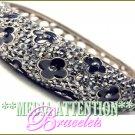 MEDIA ATTENTION silvermoda celebrity fashion bracelet on sale.