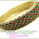 MEDIA ATTENTION emeraldmoda and far eastern rhinestone fashion bracelet on sale.