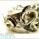 MEDIA ATTENTION  abstract designed, celebrity inspired looking fashion bracelet.