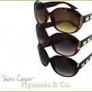 A glamorous allure is yours with these fashion sunglasses at giveaway prices.