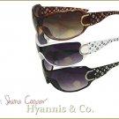 Uptown ladies will love these Metropolitan chic fashion sunglasses.