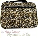 Carry your laptop tote bag in luxurious style with this fun Safari leopard print portfolio.
