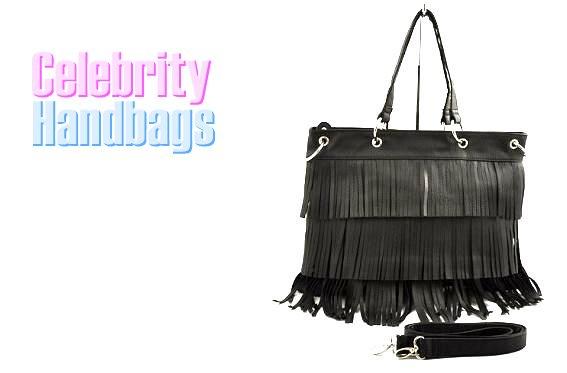 AFFIRMATION women's Black faux leather fashion handbag on sale.