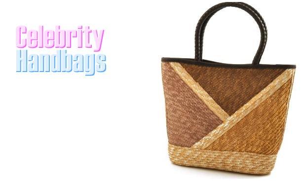 AFFIRMATION women's brown Milan Valley straw fashion handbag on sale.