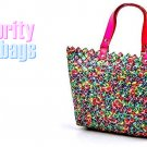 AFFIRMATION women's multi colored patent fashion handbag on sale.